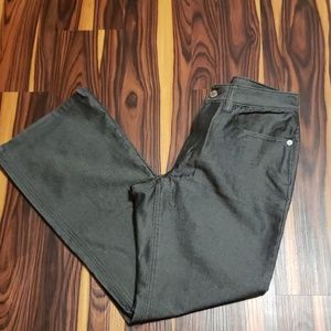 Banana Republic Holiday Black Shimmer Pants Size 8